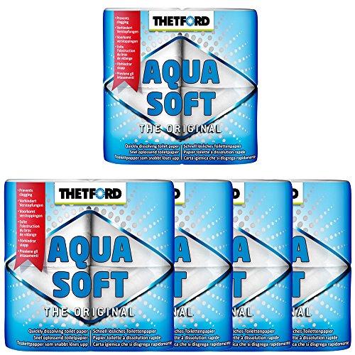 Thetford 5X Camping Toilettenpapier Aqua Soft