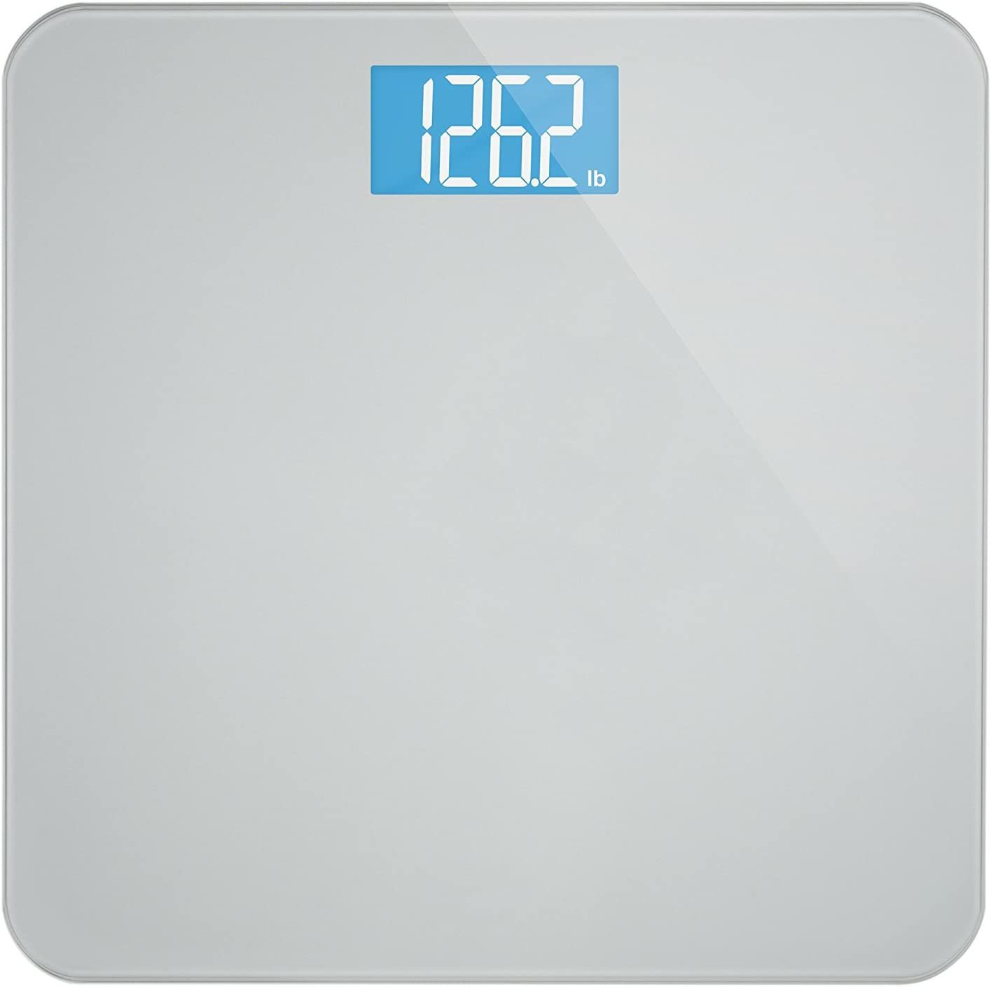 Luxe Weight Modern Digital Bathroom with Easy-to-Read 市販 Back 人気 Scale