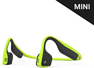 AfterShokz Titanium Mini Wireless Bone Conduction Bluetooth Headphones, Shorter Headband Size for Smaller Fit, Open-Ear Design, Ivy Green, AS600MIG