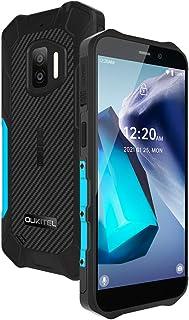 OUKITEL WP12 Pro SIMフリー スマホ 本体 防水防塵耐衝撃 Android 11 スマートフォン 4000mAhバッテリーシムフリースマホ、64GB+4GB(256 GB拡張可能)、5.5インチ、デュアル4G SIM、IP68...