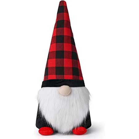 v\u00e4tter nordic design ladybugs GNOME with BIRDHOUSE and LADYBUGS tomte bird house swedish gnome scandinavian decor summer christmas