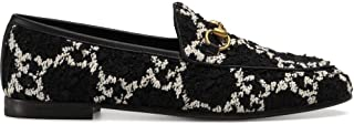 GUCCI Luxury Fashion Womens 431467HS7101192 Black Loafers | Fall Winter 19