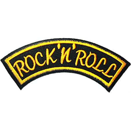 Rockabilly Rock and roll Rock Music Heavy Metal Logo Patch Embroidered Sew Iron On Patches Badge Bags Hat Jeans Shoes T-Shirt Applique