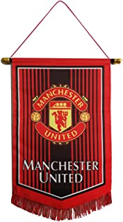 Louishop Football Club Indoor and Outdoor Flags Vivid Color Hanging Flags Decor for..