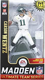 McFarlane Carson Wentz (Philadelphia Eagles) EA Sports Madden NFL 19 Ultimate Team Series 1