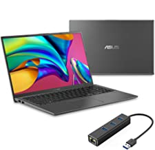 "ASUS Vivobook 15 NanoEdge Laptop, 15.6"" Full HD, Intel Core i3-1005G1 up to 3.40 GHz, 8GB RAM, 256GB SSD, Backlit KB, FP R..."