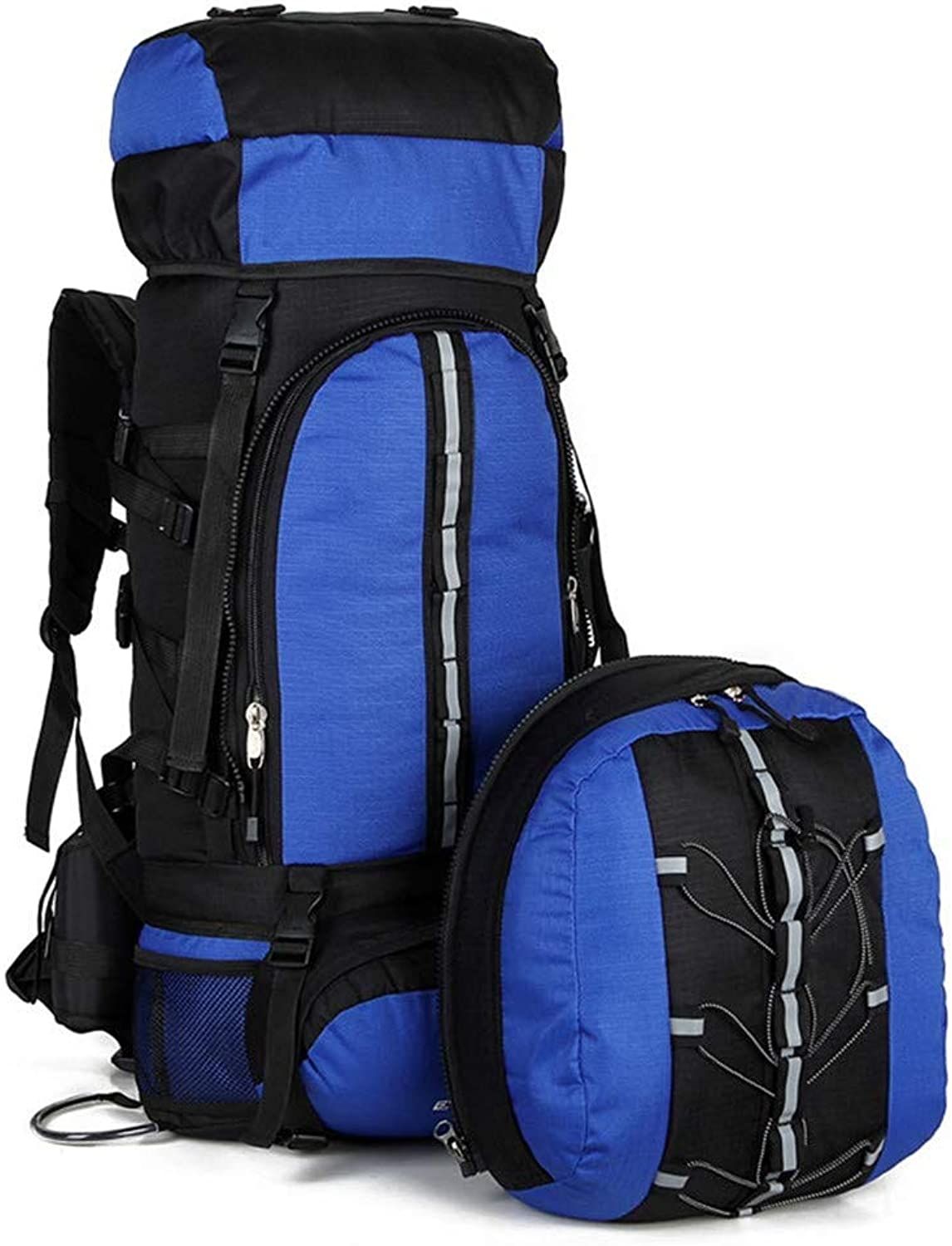 Hiking Backpack, Waterproof 80L Internal Frame Backpack, Lightweight Professional Outdoor Sports Backpack for Camping Fishing Cycling Skiing.