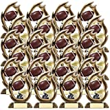 On Top Awards - Flame Football Trophy Award Resin - 7.25' Tall (Pack of 1)