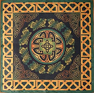 Series Tablecloths Ancient Celts Seasons. Summer - A Force of Nature 16х16 Cloth Wicca Pagan Witch Shawl