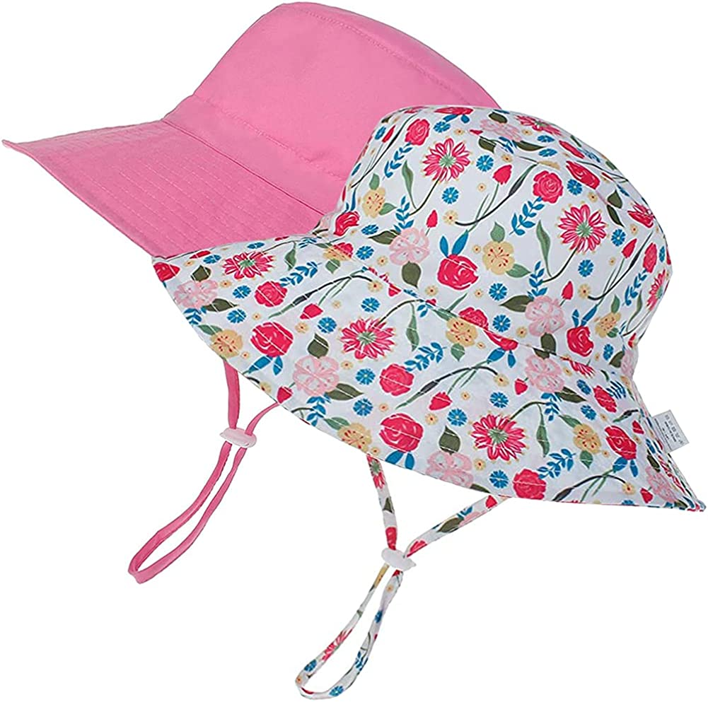 Baby Sun Hat Summer Spring new work Toddler Bucket Hats UPF National products for Boys Girls