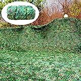 Red de camuflaje, de 2 x 4 m, ideal para sombrilla, acampada, caza, camuflaje, ideal para sombrilla, camping, tiro, caza, fiesta, decoración, 5 m x 6 m, nombre de tamaño: 6 m x 10 m., 10m*10m