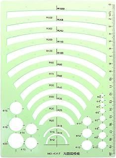 Lunji Règle Géographie Normographe - pour Dessin Bâtiment Bureau Scolaire