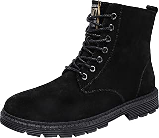 Men's Chelsea Ankle Boots High Rise Hiking Boots Suede Flat Boots Goosun Waterproof Boots Lace Up High Top Trainers Desert...