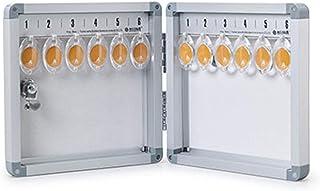 Armoire à Clés Armoire à clé Murale montée 12 armoires clés Stockage de clés à la Maison ou au Bureau Convient pour Le Sto...