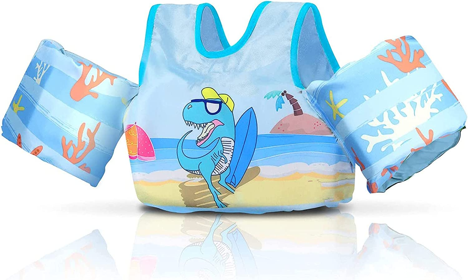 Latest item Children Training Swim Vest 2-6 Years Girls Old Water Limited time trial price Boys and