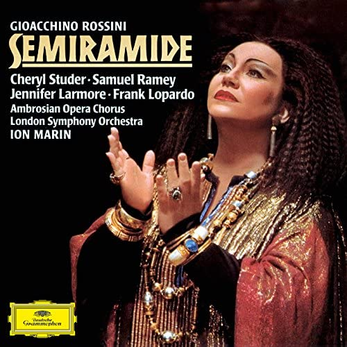 Cheryl Studer, Jennifer Larmore, Frank Lopardo, Samuel Ramey, London Symphony Orchestra, Ion Marin & Ambrosian Opera Chorus