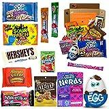 Süßigkeiten Box USA | Kennenlernbox mit 12 beliebten Süßigkeiten aus Amerika | Geschenkidee für Weihnachten und Geburtstage…