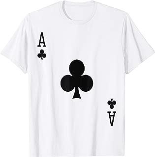Ace of Clubs, Card Deck Halloween Group Costume T-Shirt T-Shirt
