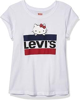 Halloween ~ t-shirt ~ usa ~ 116-122 ~ Hello Kitty ~ Noir ~ paillettes ~ chat ~ citrouille ~ fille ~ w