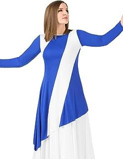 Womens Plus Size Asymmetric Worship Tunic BT5198P