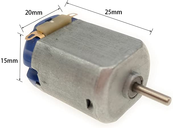 DC1.5-3V 12000RPM Permanent Magnet Motor Mini Electric with Varistor for DIY Toy 0.2A 2Pcs