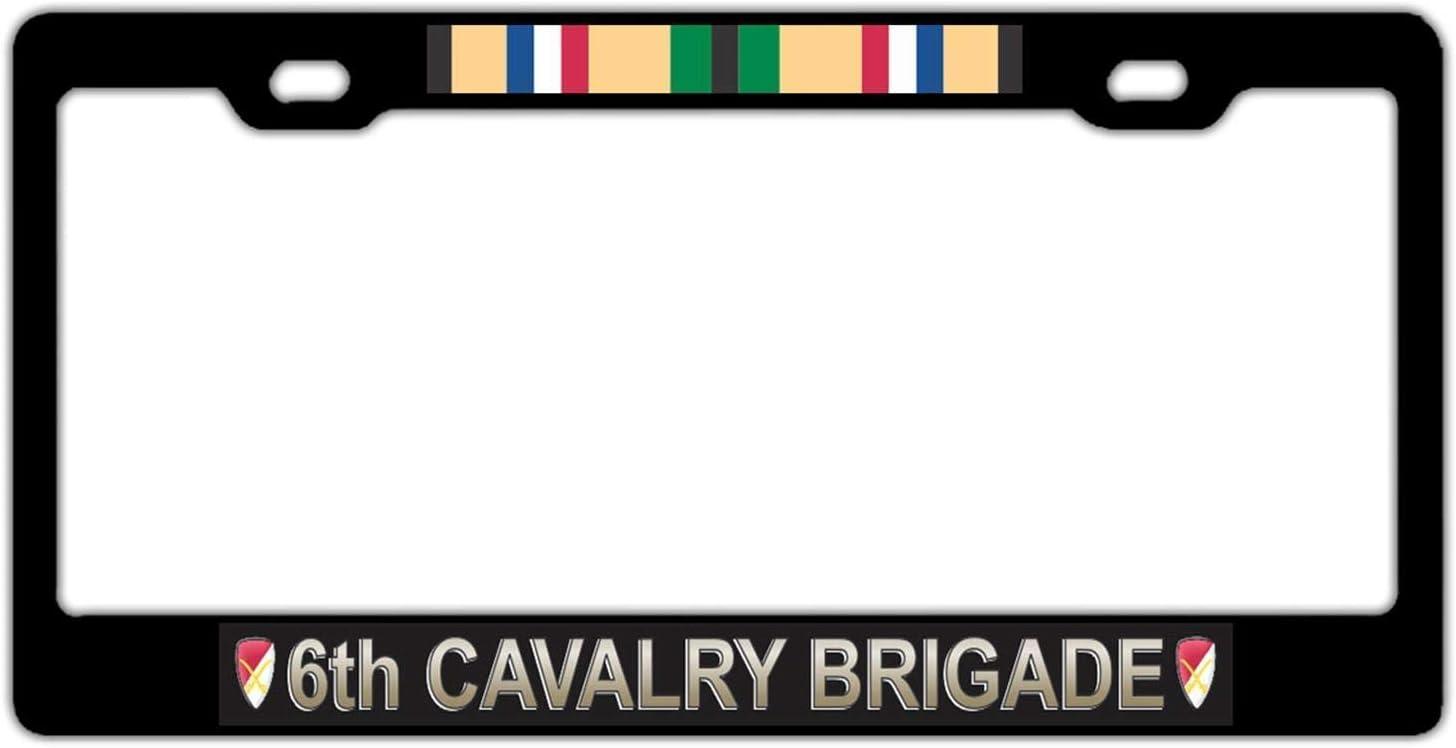 DKISEE 6Th Cavalry Brigade Gulf Frame Veteran 4 years warranty Fashion License War Plate