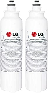 LG ADQ73613401 LT800P Refrigerator Water Filter (2pack)