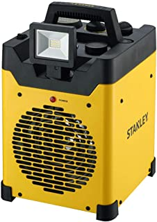 STANLEY ST-400LED-120 LED USB Electric Heater, Yellow/Black
