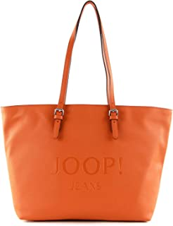 Joop! lettera lara Shopper lhz Farbe orange Kunstleder Reißverschluss
