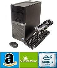 $449 » Dell Optiplex 9020 Tower Computer Gaming Desktop (Intel Core i5, 16GB Ram, 2TB HDD + 120GB SSD, WiFi, Bluetooth, HDMI) 4K Nvidia Geforce GT 730 4GB Graphics Windows 10 (Renewed)
