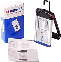 Berner Pocket Delux Bright Premiumline Led-zaklamp, werkplaatslamp