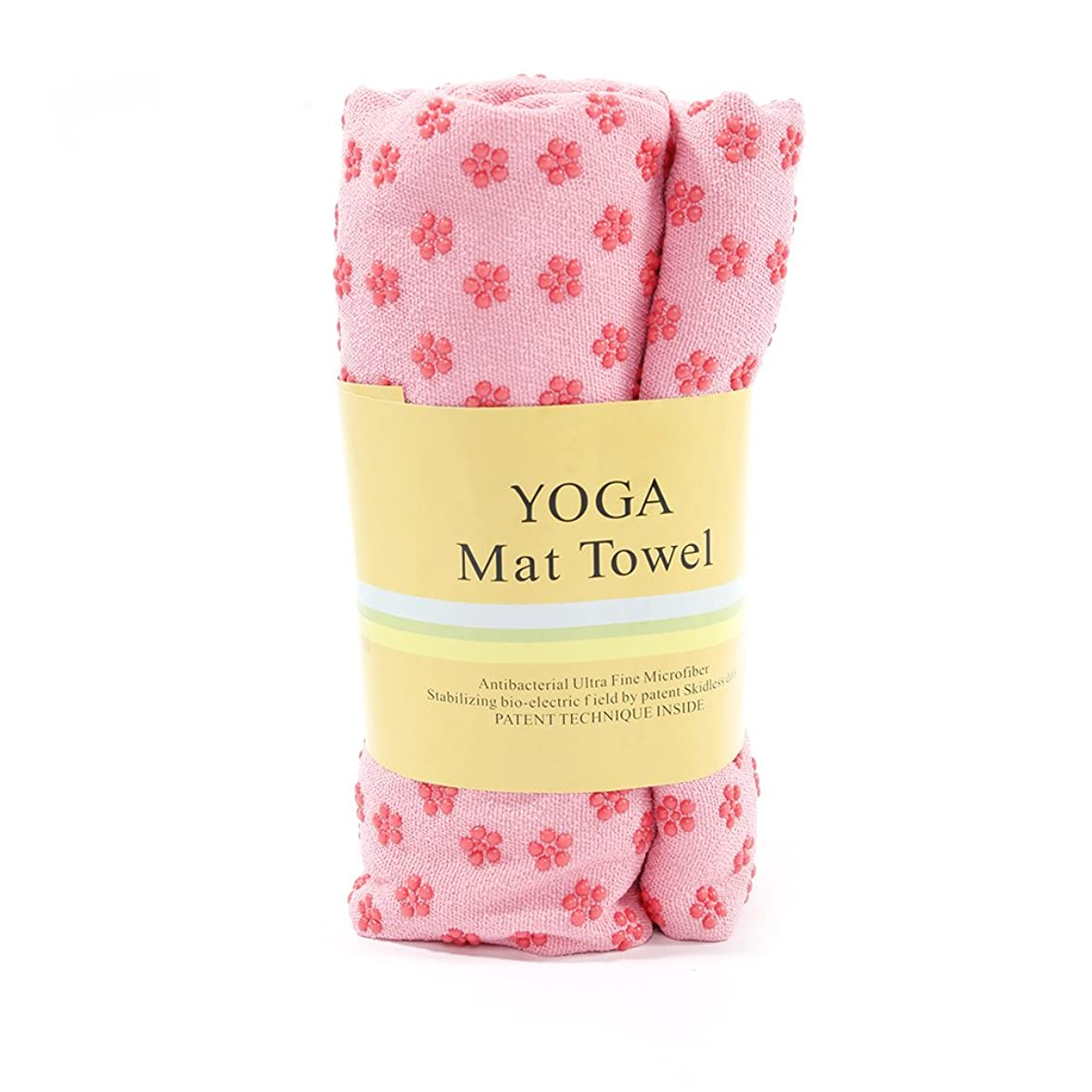 差別的競争力のあるメトロポリタンタオル マット ヨガタオル ヨガラグ(183 x 61)cm 滑り止め 速乾性 吸水性 洗濯できる yoga フィットネス エクササイズ ヨガ用マット