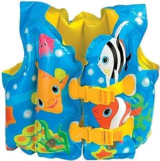 Intex Fun Fish Child Swim Vest Inflatable Kids Life Jacket - #59661 - 2 Count