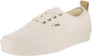 Vans Unisex Authentic PT (Basket Weave) Marshmellow Skate Shoe 8.5 Men US/10 Women US