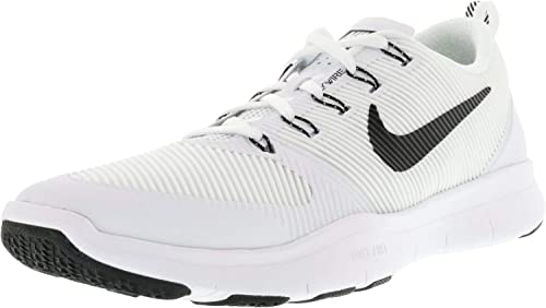 Nike Free Train Versatility TB Running chaussures 833257 100 blanc noir Taille 15