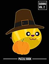 Thanksgiving Bee Pilgrim Hat Sudoku Beekeepers Holiday Season Puzzle Book Volume 2: 400 Challenging Puzzles