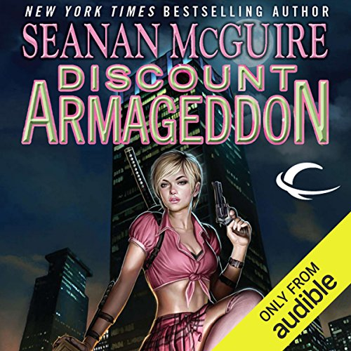 Discount Armageddon     InCryptid, Book 1              By:                                                                                                                                 Seanan McGuire                               Narrated by:                                                                                                                                 Emily Bauer                      Length: 11 hrs and 20 mins     1,440 ratings     Overall 4.1