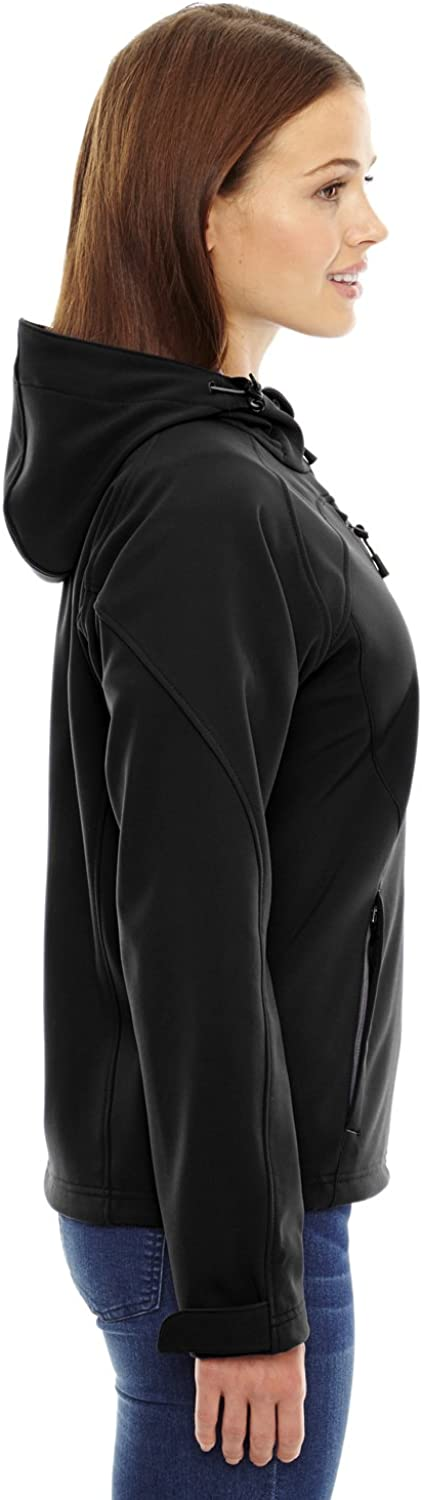 Ash City Womens Soft Shell Water Resistant Jacket