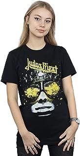 Judas Priest Women's Hell Bent Boyfriend Fit T-Shirt