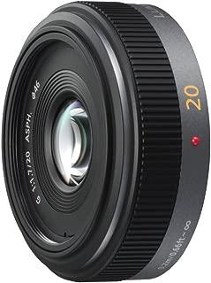 Panasonic Lumix G 20mm/F1.7 Pancake Lens