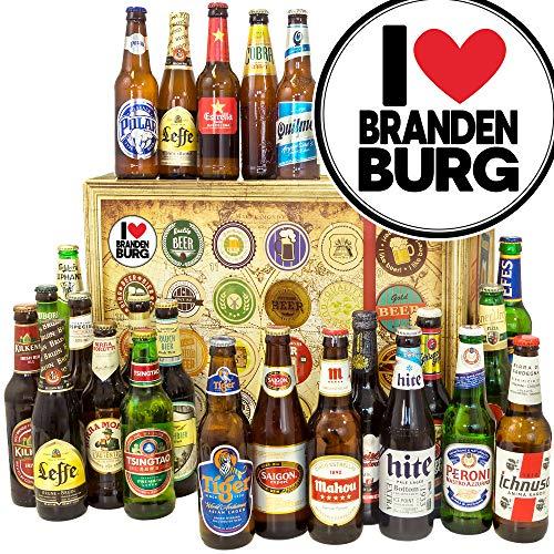 I Love Brandenburg/Biere der Welt/Brandenburg Idee/Kalender Weihnachten Bier