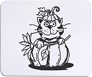 'Cat in Pumpkin' Mouse Mat / Desk Pad (MO00016102)