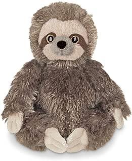 Bearington Lil' Speedy Small Plush Stuffed Animal Three Toed Sloth, 6.5 inches
