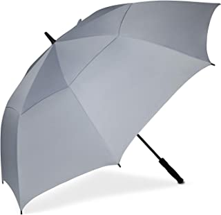 Golf Umbrella 68/62/58 Inch Large Oversize Double Canopy Vented Automatic Open Stick Umbrellas for Men and Women