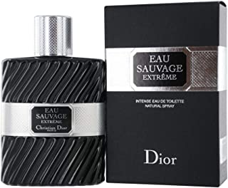 Christian Dior Eau Sauvage Extreme Men Eau de Toilette Intense Spray, 3.4 Ounce