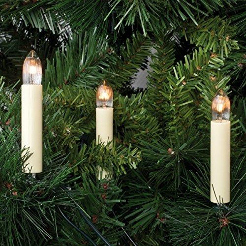 Weihnachtsbaumkette, 30 x E10/8V/3W, ROTPFEIL