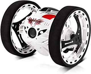 GBlife 2.4GHz Wireless Remote Control Jumping RC Toy Cars Bounce Car No WiFi for Kids(White)