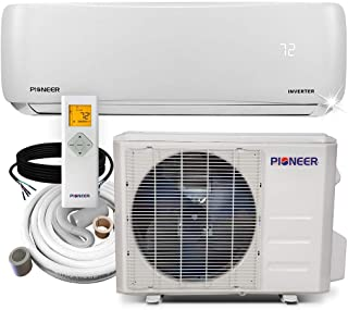 Pioneer Air Conditioner WYS012A-19 Wall Mount Ductless Inverter+ Mini Split Heat Pump,..