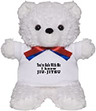 CafePress I Know Jiu-Jitsu Teddy Bear, Plush Stuffed Animal