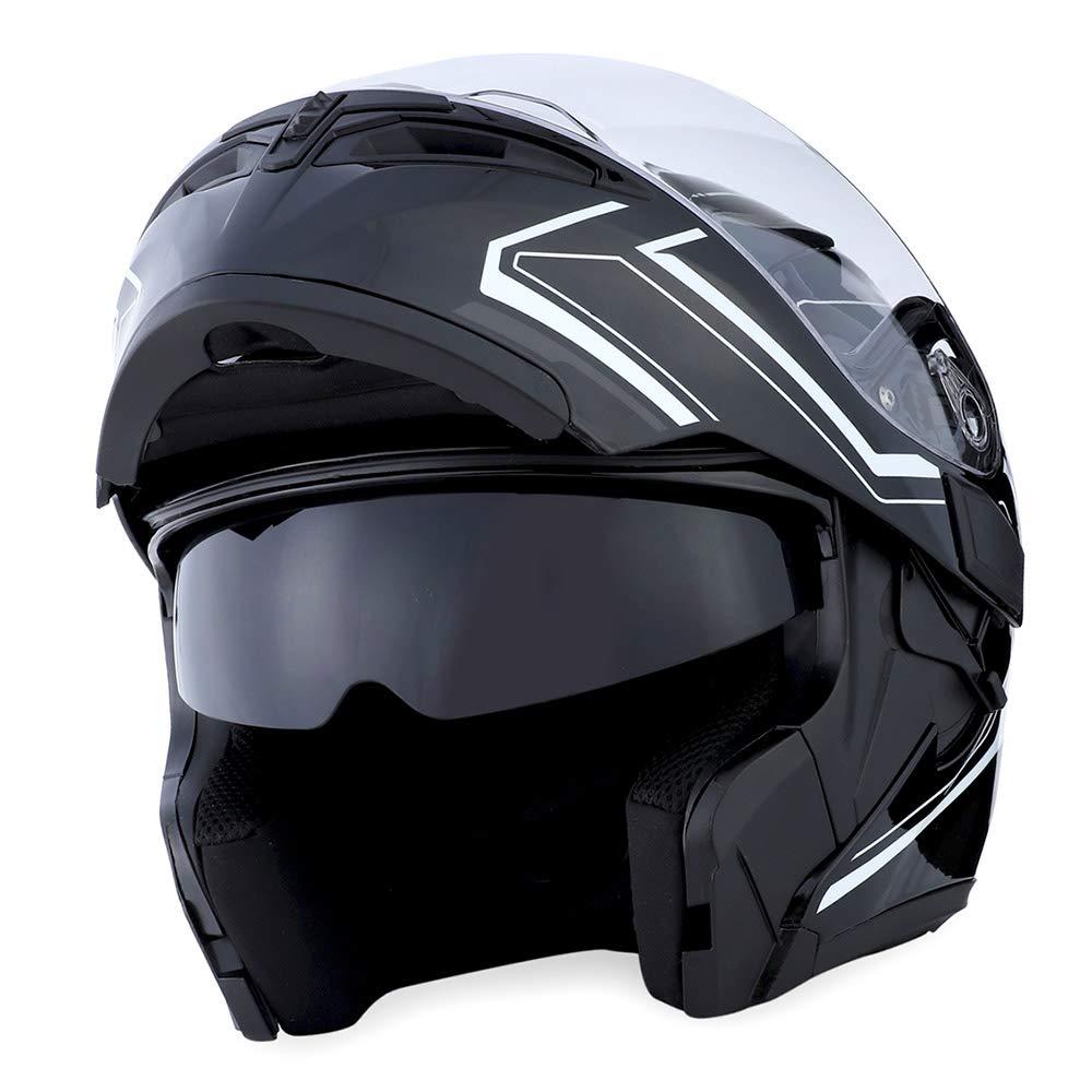 1Storm Motorcycle Modular Helmet Shield